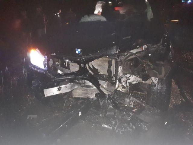 На Ставрополье столкнулись 4 автомобиля, погиб молодой водитель