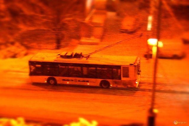 В новогоднюю ночь в Ставрополе будут работать троллейбусы