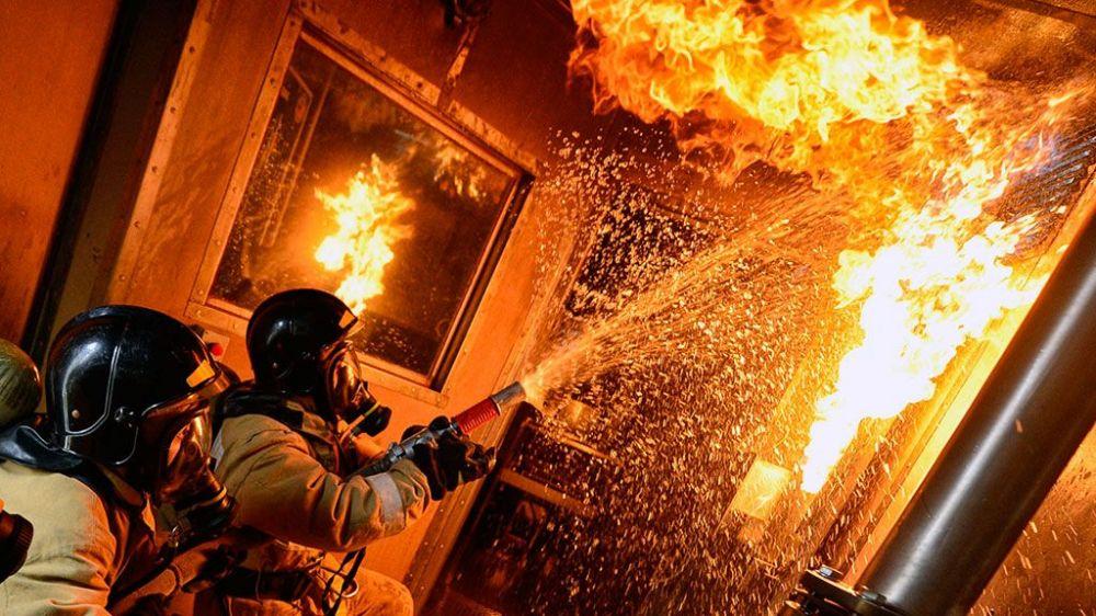 На пожаре в Невинномысске погибла пожилая женщина