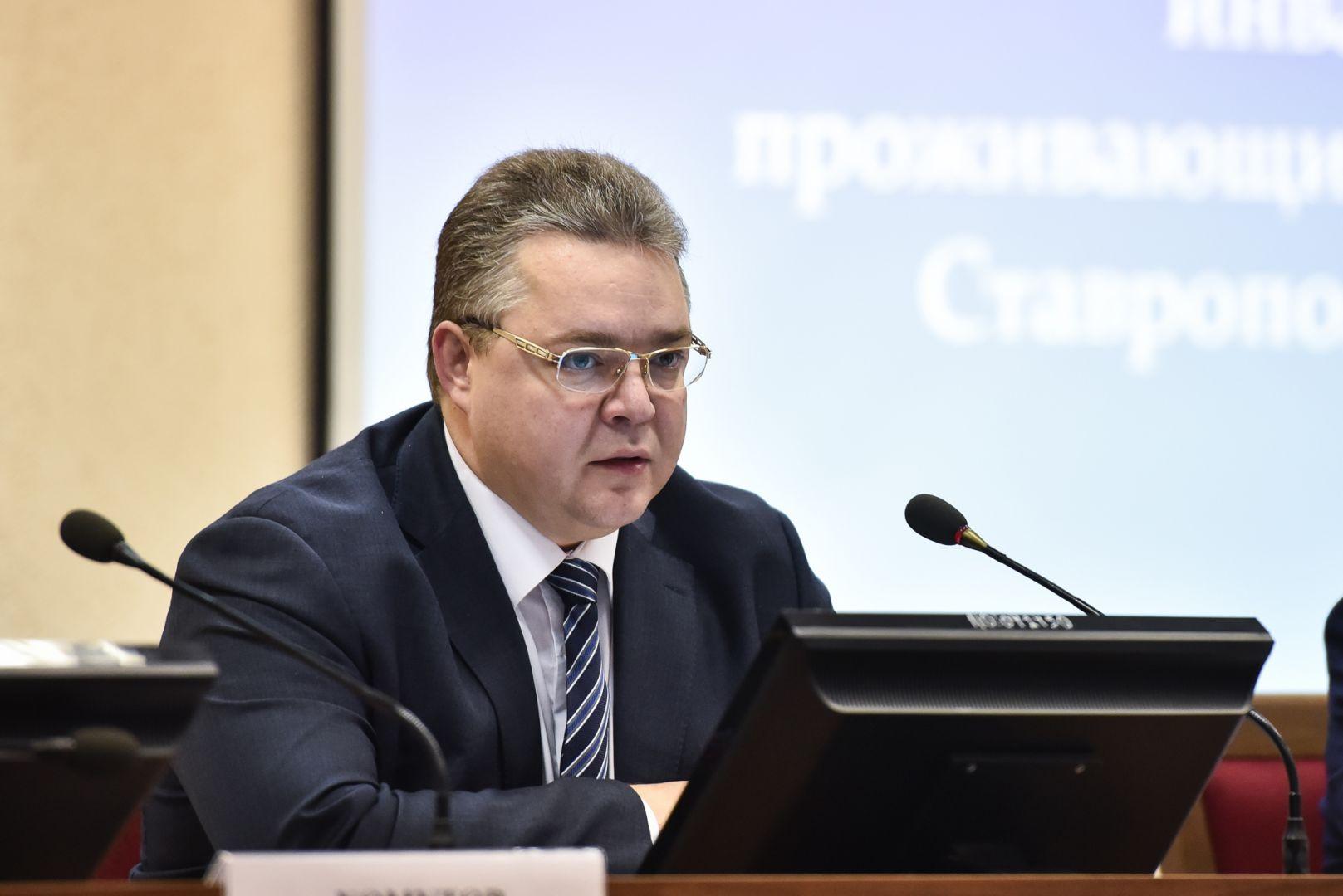 Губернатор Владимиров призвал ставропольцев объединиться вборьбе саферистами