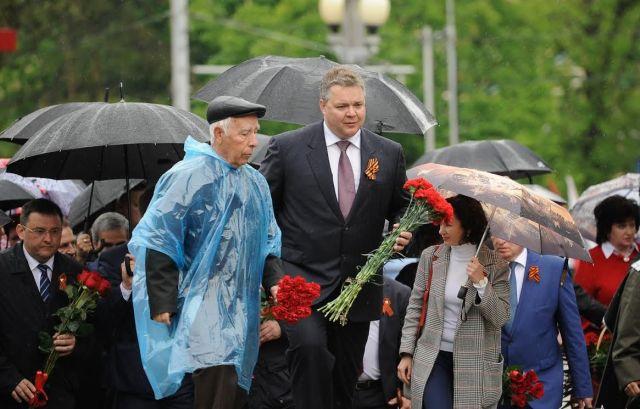 В Ставрополе прошли первые торжественные мероприятия, посвящённые 72-й годовщине Победы