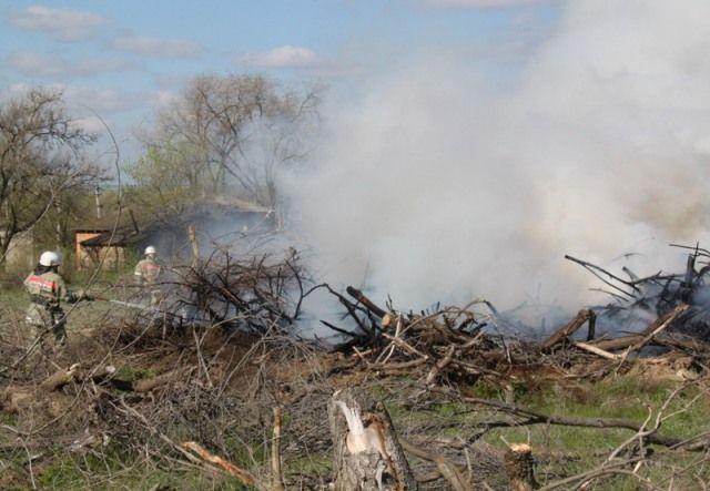 Пожарные ПАСС СК ведут борьбу с ландшафтными возгораниями