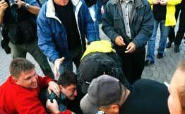 Часть задержанных участников массовой драки отпущены