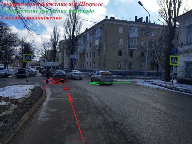 В Ставрополе водитель легковушки сбил школьницу
