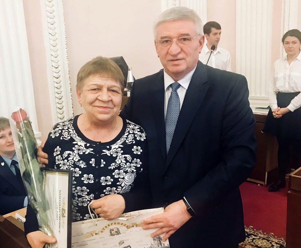 В Ставрополе охранника детсада наградили за задержание неадекватного мужчины