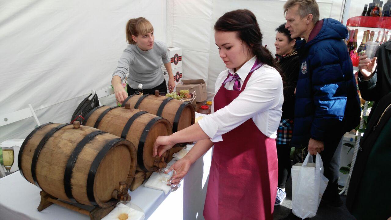 В Кисловодске прошёл фестиваль «Молодого вина»