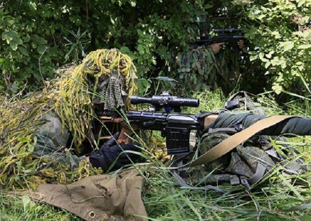 Снайперы в Ставропольском крае приступили к отработке техники скоростной стрельбы