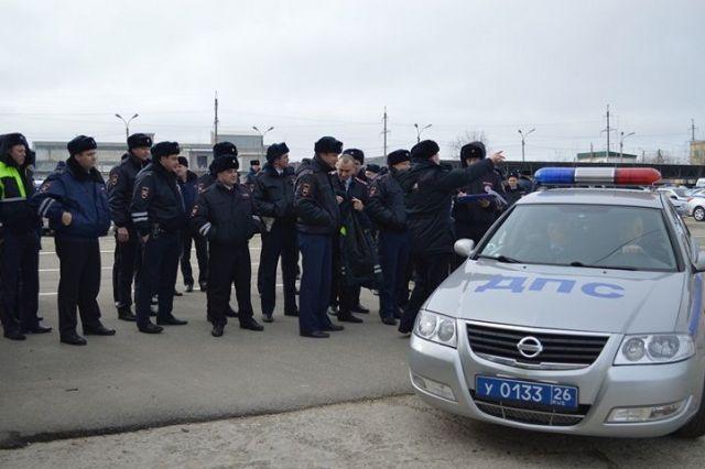 Госавтоинспекция Ставрополья сдаёт зачёты по стрельбе