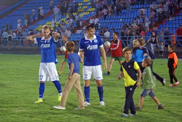 Футболисты Ставрополья одержали победы синхронно