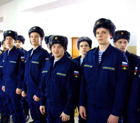 Ставропольские парни отправились служить в ВДВ