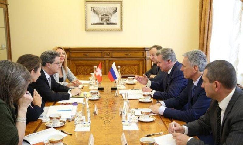В Пятигорск прибыл посол Швейцарской Конфедерации в России Ив Россье
