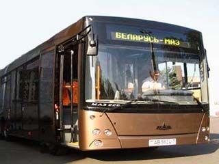 На улицы Ставрополя выйдут 10 новых минских автобусов