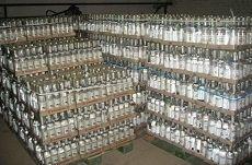 В Ставрополе конфисковано более 20 тысяч бутылок с некачественной водкой