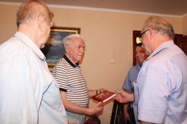 Владимир Путин поздравил жителя Ставрополья Владимира Кузнецова с 90-летием