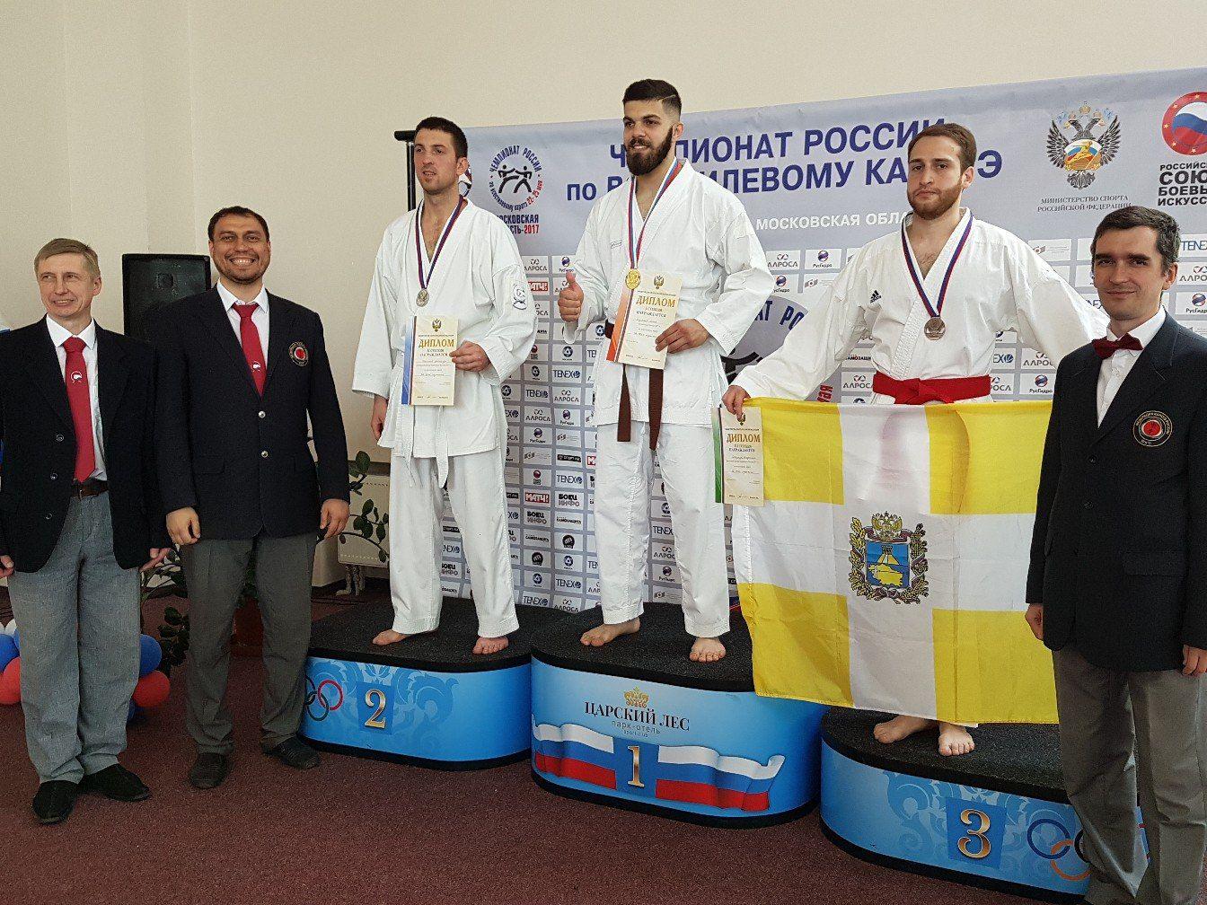 Спортсмены изКарелии завоевали медали наЧемпионате Российской Федерации повсестилевому каратэ