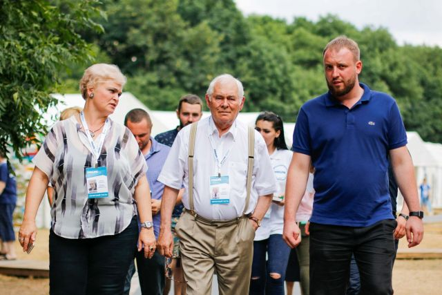 Легендарный врач Леонид Рошаль пообщался с молодёжью СКФО на «Машуке»