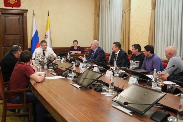 Губернатор Ставрополья встретился с автоперевозчиками города после их жалобы в соцсети