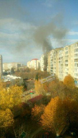 В Ставрополе во время пожара в квартире пострадал человек