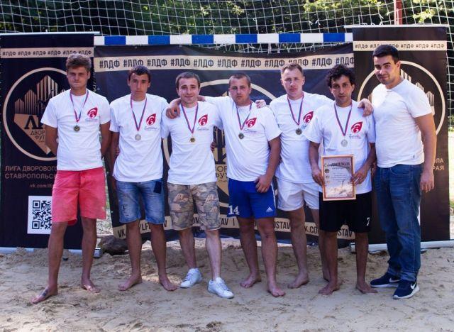 В Ставрополе состоялся Кубок города среди любителей пляжного футбола