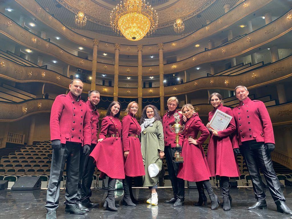 Ставропольский театр песни Viva привез Гран-При с всероссийского фестиваля военной и патриотической песни