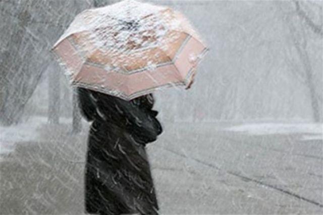 В выходные на Ставрополье ожидается снег с дождём