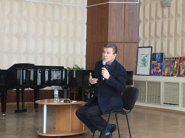 Народный артист России Лев Лещенко встретился с ессентучанами