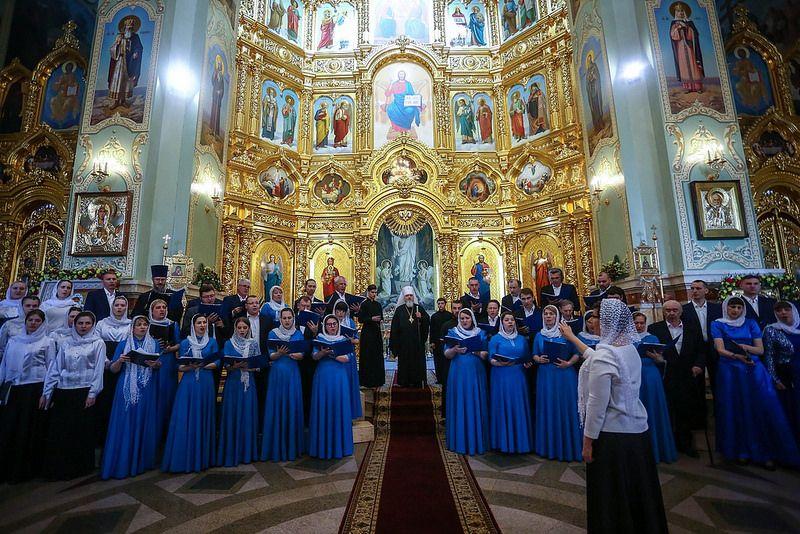 В Ставрополе прошёл шестой Пасхальный хоровой собор