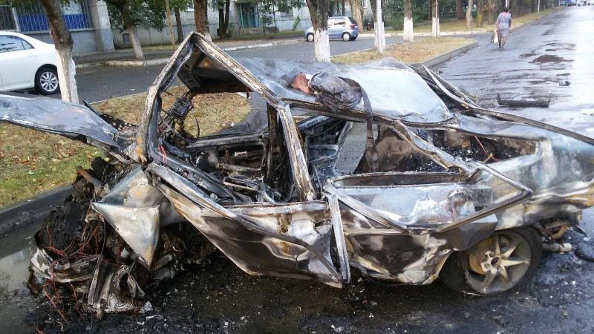 «ВАЗ» зажегся после лобового ДТП наСтаврополье, четверо ранены