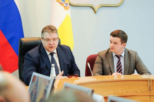 Губернатор Ставрополья встретился с представителями предпринимательского сообщества края