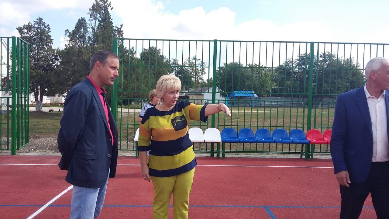 Современная спортивная площадка появилась в станице Суворовской