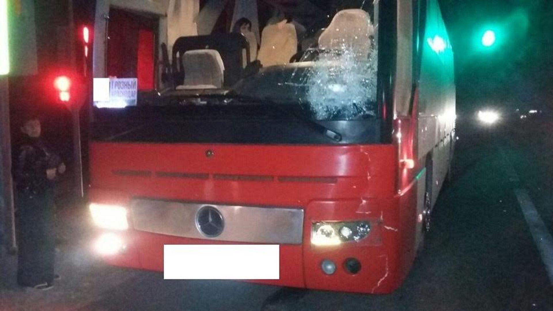 ВМинераловодском районе рейсовый автобус сбил пешехода
