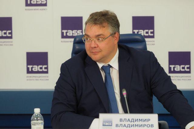 Владимир Владимиров ответил на вопросы журналистов в Москве