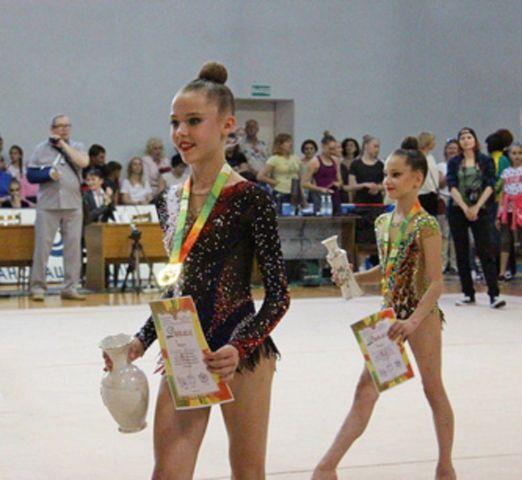 На Ставрополье завершились всероссийские соревнования по художественной гимнастике