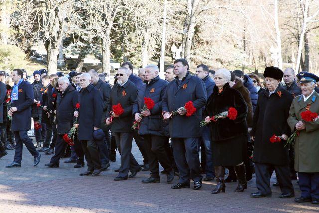 В Ставрополе отметили 76-летие освобождения города от фашистов