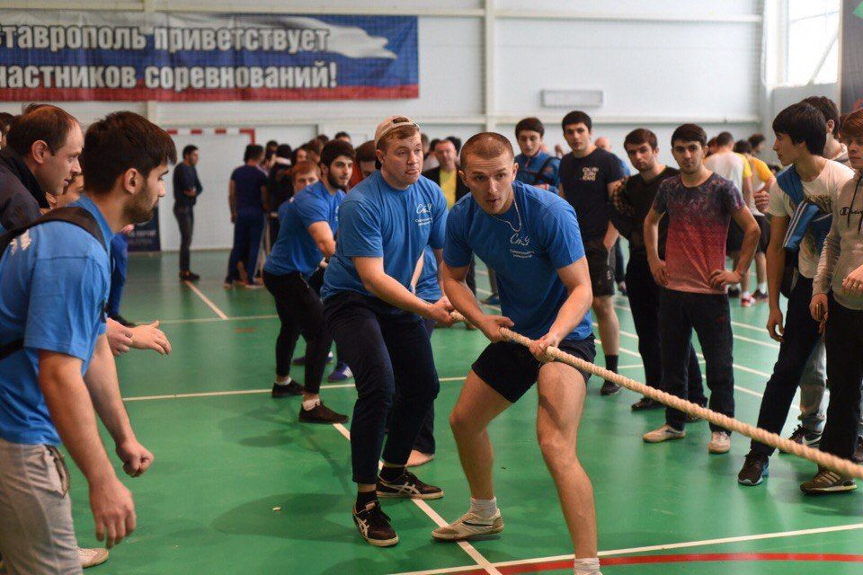 В Ставрополе пройдут состязания «А ну-ка, парни!»