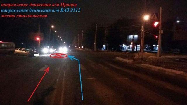 В Ставрополе столкнулись две легковушки, пострадали трое