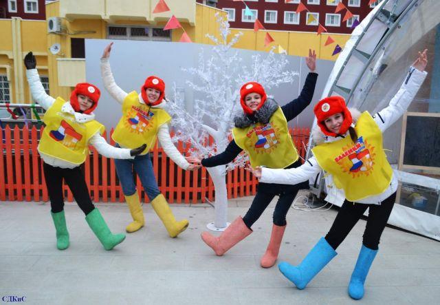В Ставрополе весело и шумно прошёл фестиваль «Валенкиbattle»