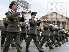 9 Мая более 500 военных пройдут по площади Ленина