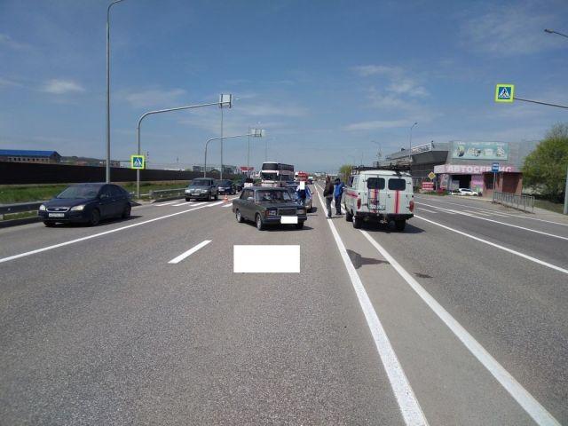 На Ставрополье водитель легковушки насмерть сбил пенсионерку