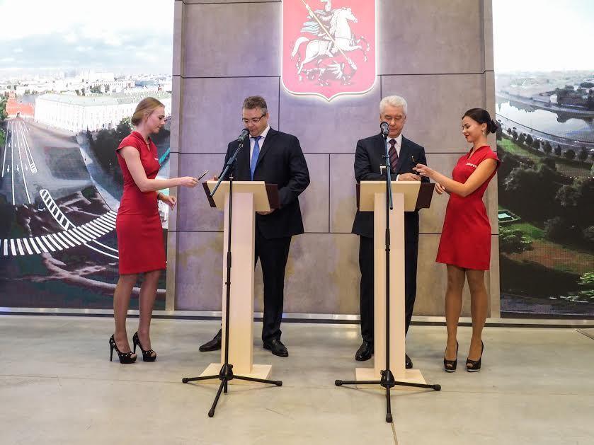 Власти столицы иСтаврополья договорились осотрудничестве регионов