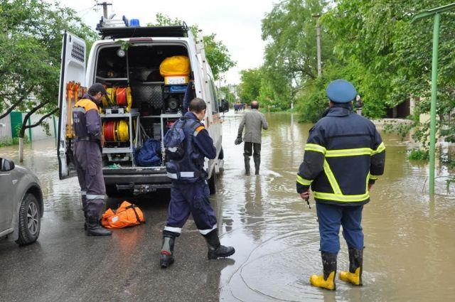 Уровень воды в поселениях Георгиевского городского округа начал снижаться