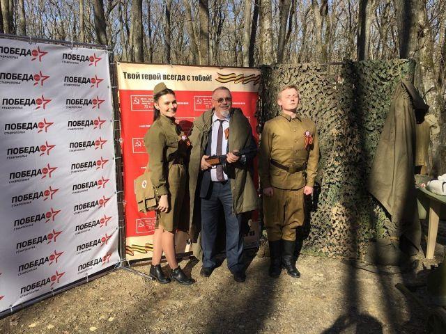 В Ставрополе «заговорила» радиостанция «Победа ФМ»