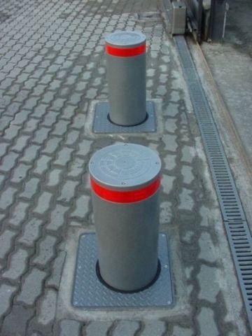 На улицах Железноводска устанавливают механические системы ограничения проезда