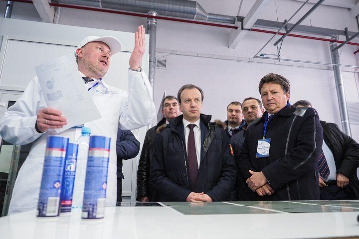 На ставропольском заводе запустили производство алюминиевых аэрозольных баллонов