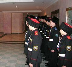 Милицейское напутствие ставропольским кадетам