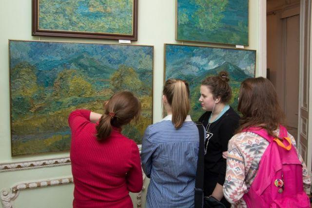 В Ставрополе прошла встреча с художником Александром Рубцом
