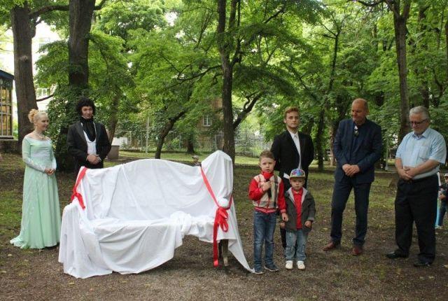 В День России в Ставрополе открыли пушкинскую скамейку