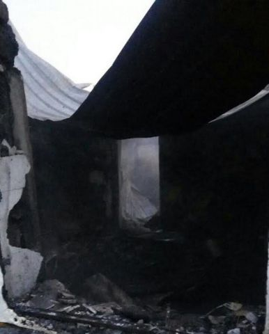 На Ставрополье загорелся частный дом, погибли два человека