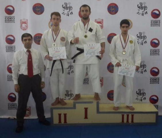 Каратисты из Ставрополя  одержали победу на Всероссийском турнире