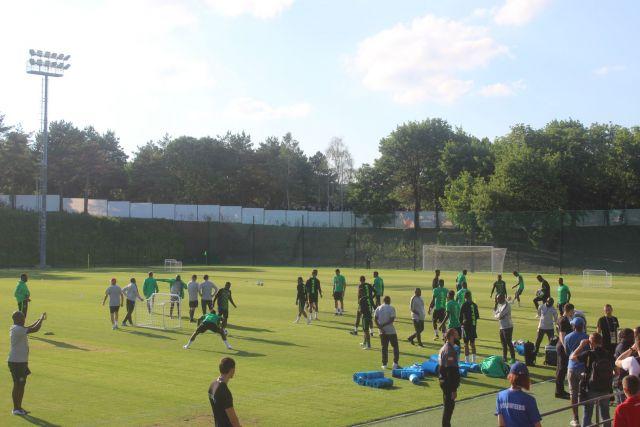 В Ессентуках создали все условия для проживания и тренировок нигерийских футболистов
